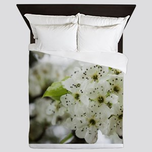 Speckled Sakura Queen Duvet