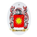 Spatuzza Oval Ornament