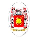 Spatoni Sticker (Oval 50 pk)