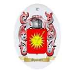 Spatoni Oval Ornament