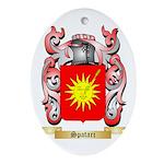 Spatari Oval Ornament