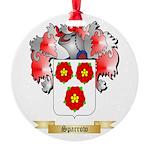 Sparrow Round Ornament