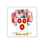 Sparrow Square Sticker 3