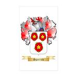Sparrow Sticker (Rectangle 50 pk)