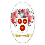 Sparrow Sticker (Oval 50 pk)