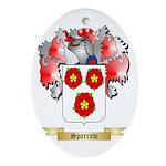 Sparrow Oval Ornament
