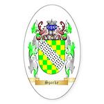 Sparke Sticker (Oval 50 pk)