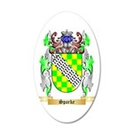 Sparke 20x12 Oval Wall Decal