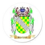 Sparhawk Round Car Magnet