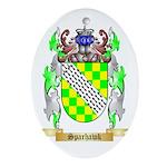 Sparhawk Oval Ornament