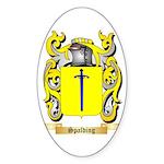Spalding Sticker (Oval 50 pk)