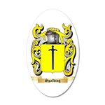 Spalding 20x12 Oval Wall Decal