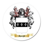 Spaight Round Car Magnet