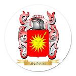 Spadolini Round Car Magnet