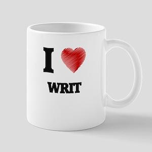 I love Writ Mugs