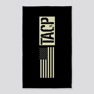 U.S. Air Force: TACP (Black Flag) Area Rug