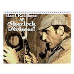 Rathbone Is Sherlock Holmes 2018 Wall Calendar
