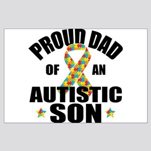 Autism Dad Large Poster
