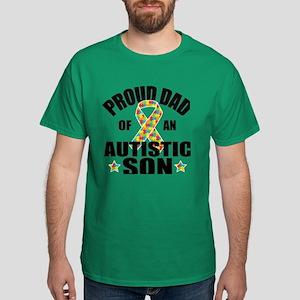 Autism Dad Dark T-Shirt