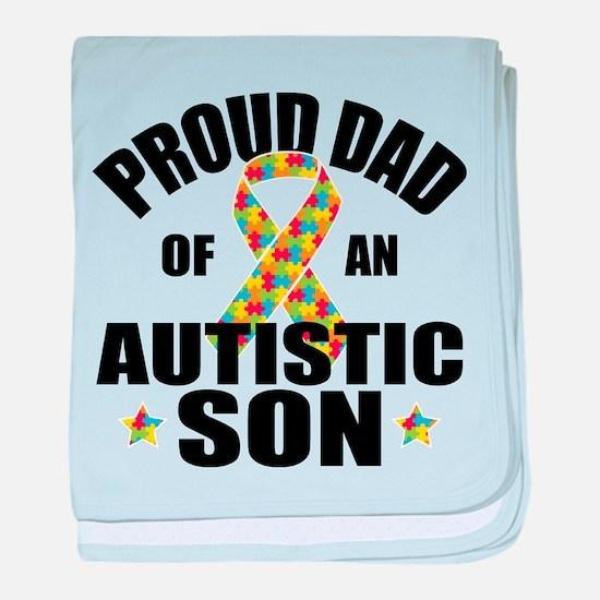 Autism Dad baby blanket