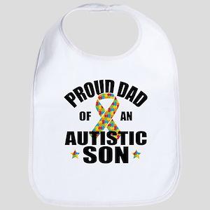 Autism Dad Bib