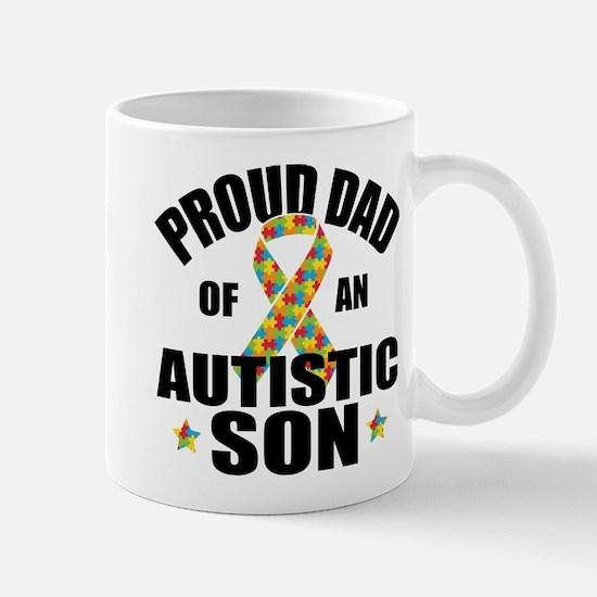 Autism Dad Mug