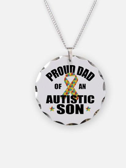 Autism Dad Necklace