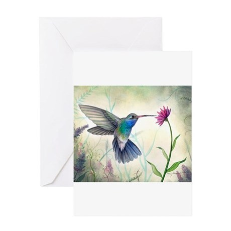 Sweet nectar hummingbird greeting cards by robmolily m4hsunfo