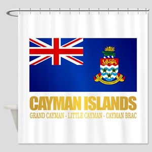 Cayman Islands Shower Curtain
