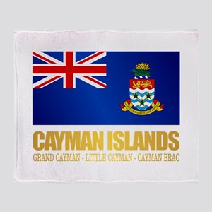 Cayman Islands Throw Blanket