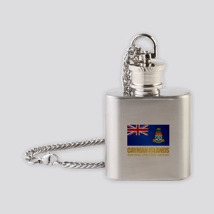 Cayman Islands Flask Necklace