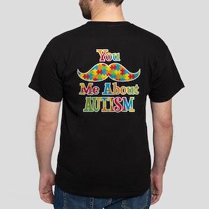Mustache Autism Dark T-Shirt