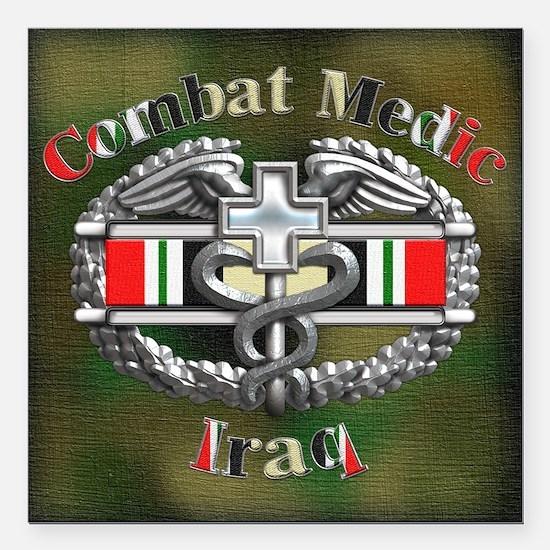 "Harvest Moons CMB-Iraq Square Car Magnet 3"" x 3"""