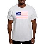 US FLAG-SOT Ash Grey T