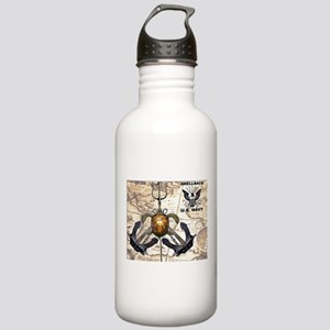 US Navy Shellback Water Bottle