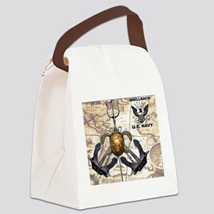 US Navy Shellback Canvas Lunch Bag