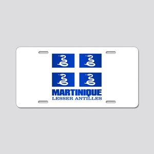 Martinique Aluminum License Plate