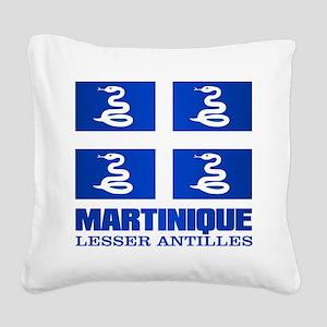 Martinique Square Canvas Pillow