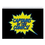 Captains Of The Comics 2018 12-Month Wall Calendar