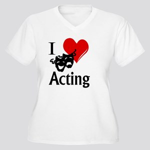 I Heart Acting Plus Size T-Shirt
