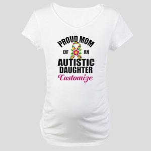 Autism Mom Maternity T-Shirt