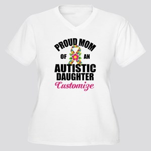 Autism Mom Women's Plus Size V-Neck T-Shirt
