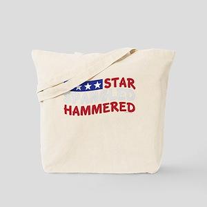 Star Spangled Hammered USA-01 Tote Bag