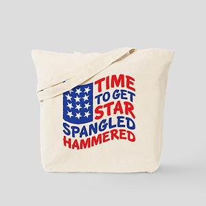 Star Spangled Hammered Tote Bag
