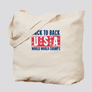 USa Back to Back World War Champs-01 Tote Bag