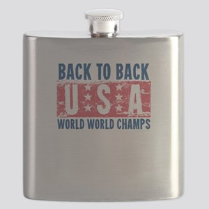 USa Back to Back World War Champs-01 Flask