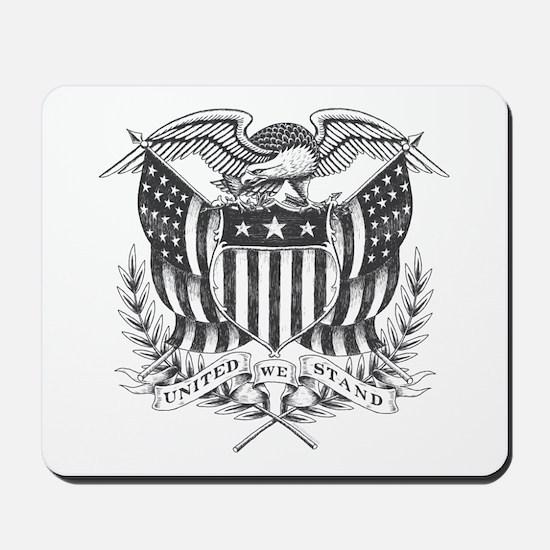 Back To Back World War Champs USA Mousepad
