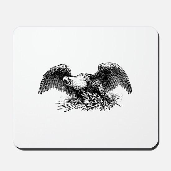 American War Eagle Mousepad