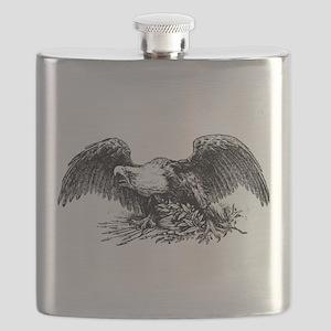 American War Eagle Flask