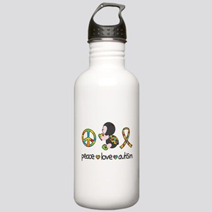 Peace Love Autism Stainless Water Bottle 1.0L